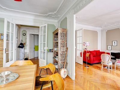 Photo for Spacious Typical Parisian Flat