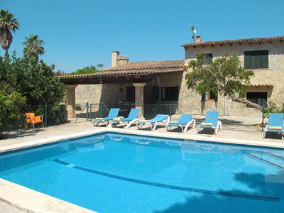 Photo for Vacation home in Santa Margalida, Majorca / Mallorca - 9 persons, 4 bedrooms