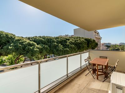 Photo for Fresh studio close to beach in Cannes by easyBNB