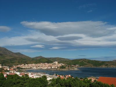 Photo for Apartment/ flat - Banyuls-sur mer with a very lovely view on Banyuls bay