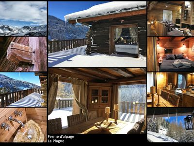 Photo for Chalet 5 stars, Charm and comfort, with family or friends