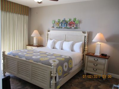 Photo for Couples Stay & Play located on the Beach 9th FL. Walk to Pier Park
