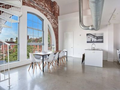 Photo for STUNNING 3BR/3BA Loft!! Minutes to NYC! Sleeps 10!