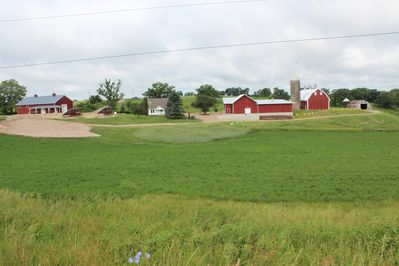 View of Norwegian Hollow Farm House and WOS