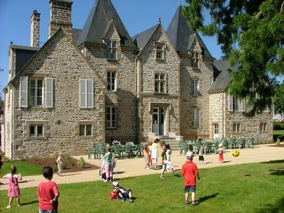 Photo for Le Bourg du Château is a character house, restored in a closed park
