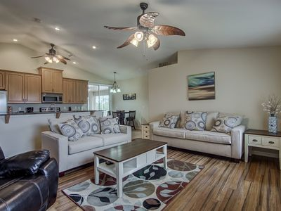 Photo for Sun & Fun!  The Ideal Destination.   Modern, Family Friendly Waterfront Home.