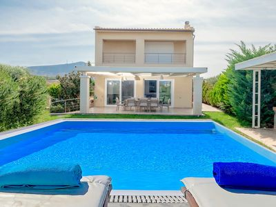 Photo for Beach Villa Penelope with private pool