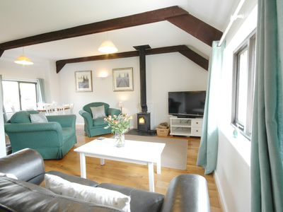 Photo for Beautiful barn conversion with INDOOR SWIMMING POOL in stunning tranquil setting