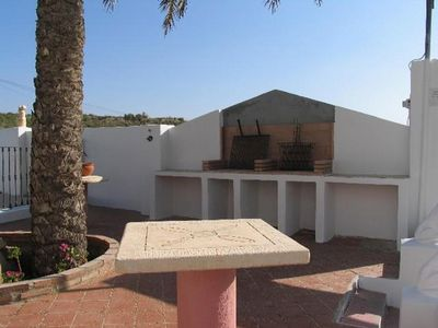 Photo for Vera playa, 1 bedroom apartment in ground floor with terrace, A / C, Nª25