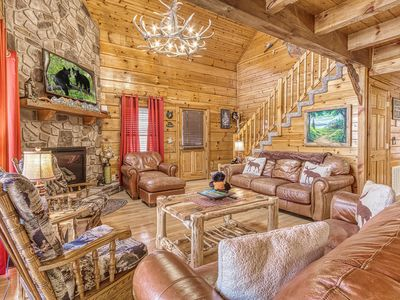 Photo for (New Listing)Awesome Cabin,Near Pigeon Forge,Great Pricing, FREE Area Attraction Tickets!!!