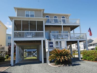 Photo for Perfect Family Beach House-Linen Ready-Very Close To Beach - 5br/5ba Sleeps 14