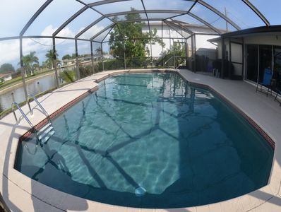 LARGE ELECTRIC HEATED POOL