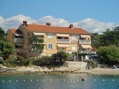 Photo for Holiday apartment overlooking the sea just 10 meters from the sea