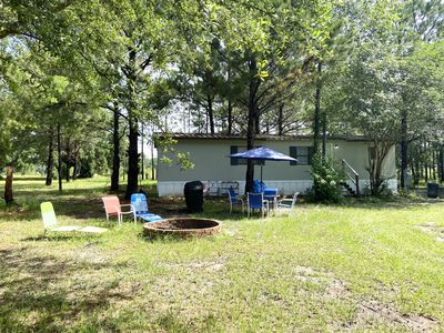Photo for Secluded 5 acres with pond and pines,minutes from I75, springs, raceway and town