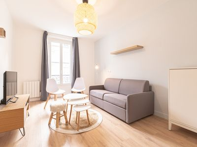 Photo for 78m2 bright and design close to Vitry station
