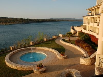 Photo for Luxury Condo on its Own Private Island on Lake Travis