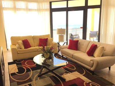 LUXURY GULF FRONT 6TH FLOOR 3BD/4BA**PRIVATE BALCONY**