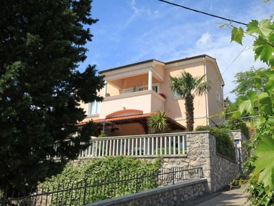 Photo for One bedroom apartment with terrace and sea view Lovran (Opatija) (A-7782-a)