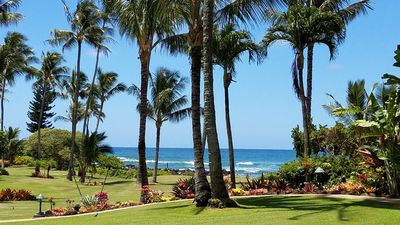 Photo for Lae Nani 415 - Amazing Oceanfront Condo - 2 BR & 2 BA - Sleeps 6 - Ground Floor!