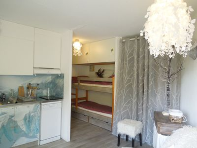 Photo for Alpe d'Huez - Furnished apartment 4 people comfort