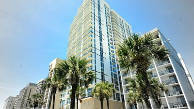 Photo for Ocean Front Luxury Condo for 4 - FREE GOLF, FREE Waterpark
