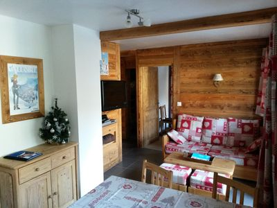 Photo for Apartment any comfort in the heart of Valloire
