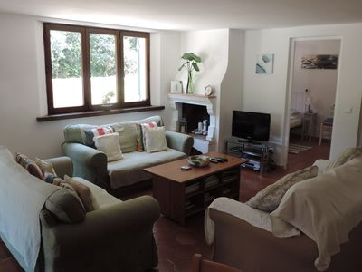 Lounge, TV, DVD, ipod dock, Sofabed (if required)