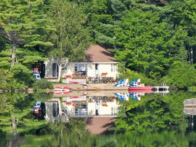 Photo for Warm and Cozy Lake Cottage on Beautiful Trout Lake