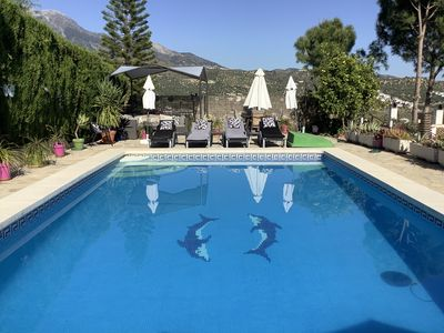 Photo for Beautiful Villa with 10 metre X 6 Metre Private Pool, Lake & Mountain Views.