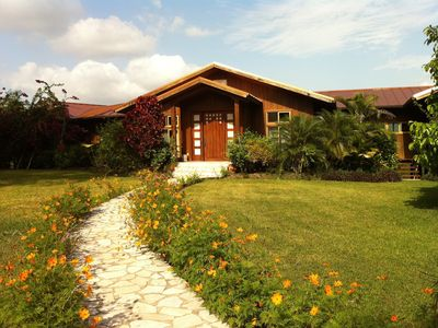 Photo for Modern Hilltop Villa With Pool and onsite staff on a 50 acre private reserve