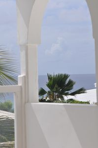 Photo for Luxury apartment with sea view 5 min walk from the beach of Anse des Rochers