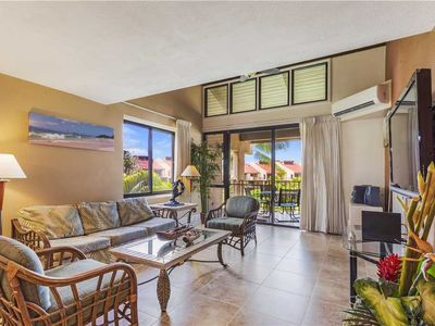 Photo for Kamaole Sands 2-401 - Renovated 3-Bedroom Condo, Central Air-Conditioning, Ocean View