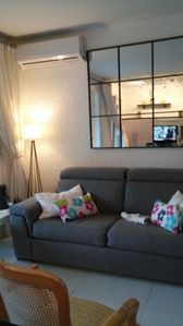 Photo for Super T2 fully refurbished late 2015, 300m from beach and port, wonderful terrace