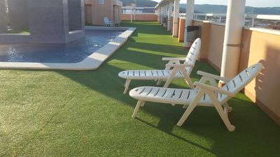 Photo for VERY COMFORTABLE APARTMENT SITUATED ON THE BEACH OF LA CONCHA