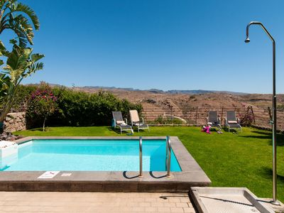 Photo for TWO BEDROOM VILLA WITH PRIVATE POOL AT THE SALOBRE GOLF RESORT IN GRAN CANARIA