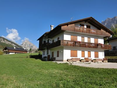 Photo for Cortina d'Ampezzo Panoramic penthouse a few steps from the center