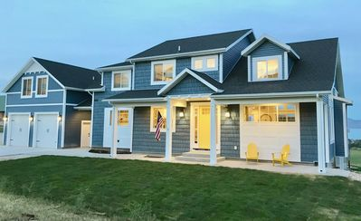 Photo for BRAND NEW Big Blue Cottage Family Retreat - Sleeps 41 in beds