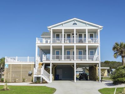 Photo for Starboard Side - 4 Bed/4.5 Bath - Private deck-top pool & covered porch
