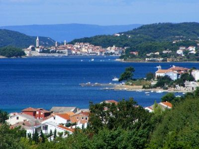 Photo for A1 Gabrić, 150 m to the sea, 4 people, sea view, free WiFi, free parking, BBQ