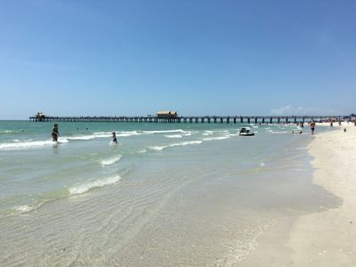 Photo for BEST LOCATION IN NAPLES! Sugar Sand Beaches 1 block to restaurants/shops