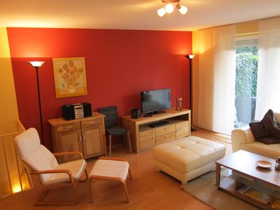 Photo for 3 room Non smoking-apartment in the west of Hamburg, for 6 pers. (2 bedrooms) ground floor garden
