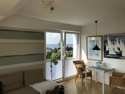Photo for Mediterranean 2 bedroom apartment with sea views and south west facing balcony to relax
