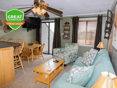 Photo for NO BAIT & SWITCH PRICING | Includes Parking/Cleaning | 2BR/2BA | Sleep 6 | ML307