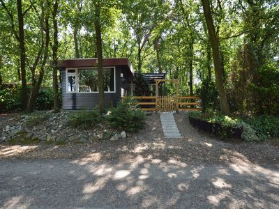 Photo for Luxurious bungalow with sauna and private garden at a nature park