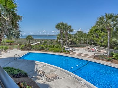Photo for 1905 S. Beach Club - 3 Bedroom Villa w/ Views of the Pool, Beach & Sound!