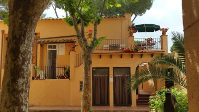 Photo for House with terrace and garden at 30 meters from the sand beach of la Fosca.