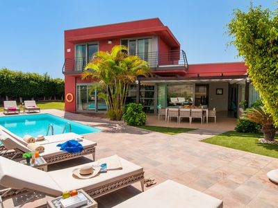 Photo for 3 BEDROOM VILLA WITH PRIVATE POOL CLOSE TO THE EL SALOBRE GOLF COURTS
