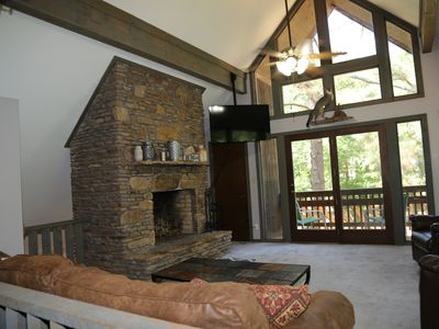 Photo for Winter monthly rates -- Kentucky Lake Chalet with private lake access
