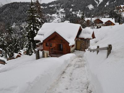 Photo for Chalet 10-12 people-Oz in Oisans Station-Foot of the slopes-Link Alpe d'Huez-Wifi