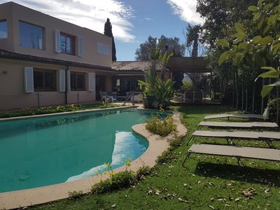 Photo for SPECIAL OFFER!!! Beautiful villa with pool in Palma,